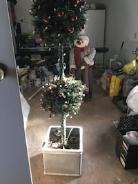 """58"""" High faux topiary tree in pot Barrie, L4N 1G6"""