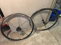Bontrager race x-lite road wheels. excellent condition. Fast and smooth, rims perfect