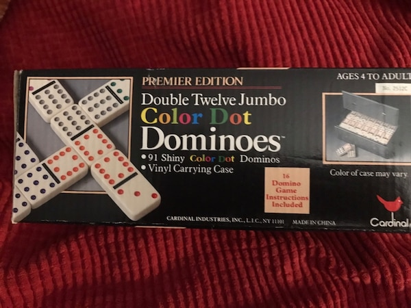 Dominoes!!  Double twelves