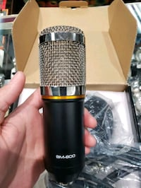 QIBOX BM-800 Pro Condenser Microphone Mic for Studio and Recording