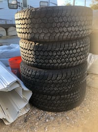 Truck tires and dirt bike tires
