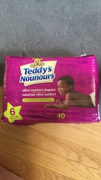 Teddy's disposable diaper pack Vaughan, L6A 0N4