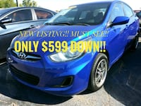 Blue Hyundai - Accent - 2014 - EVERYONE APPROVED!! Chandler, 85225