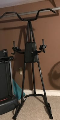 Black and gray exercise equipment Raleigh, 27610