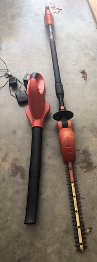 Black and Decker Blower and Hedgetrimmers - 18v Candler, 28715
