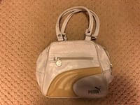 White vintage small PUMA handbag purse Toronto, M1C 4M7