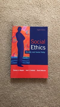 Social ethics morality and social policy eighth edition