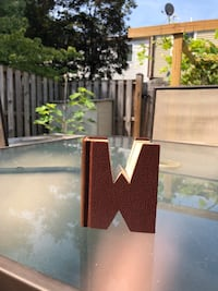 "Hand made ""W"" or ""M"" Decor out of a book Derwood, 20855"