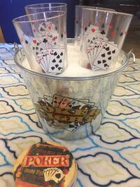 Poker Night glasses Las Vegas, 89183