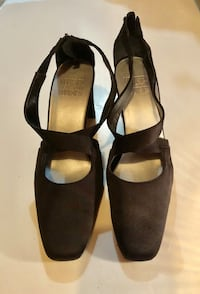 Black double strap high heels Oklahoma City, 73120