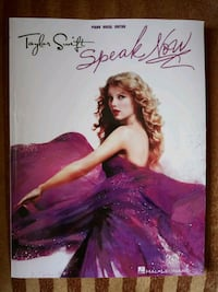 Taylor Swift Speak Now albümü şarkı notaları