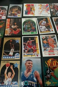 Vintage basketball cards 1989-1996 Carol Stream, 60188