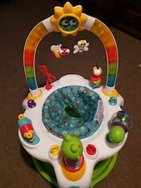 Baby's activity saucer Seaside