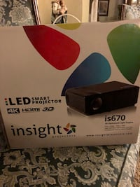 LED smart projector and screen 2265 mi