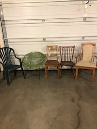 Today All five chairs only $35 Edmonton, T5M 0S6
