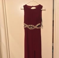 Women's Burgundy Prom Dress Henderson, 89015