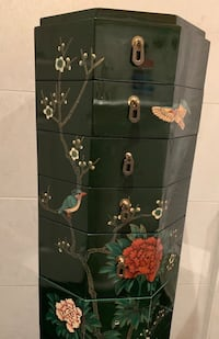 Japanese Hexagonal Jewellery Armoire Markham, L3T 3H7