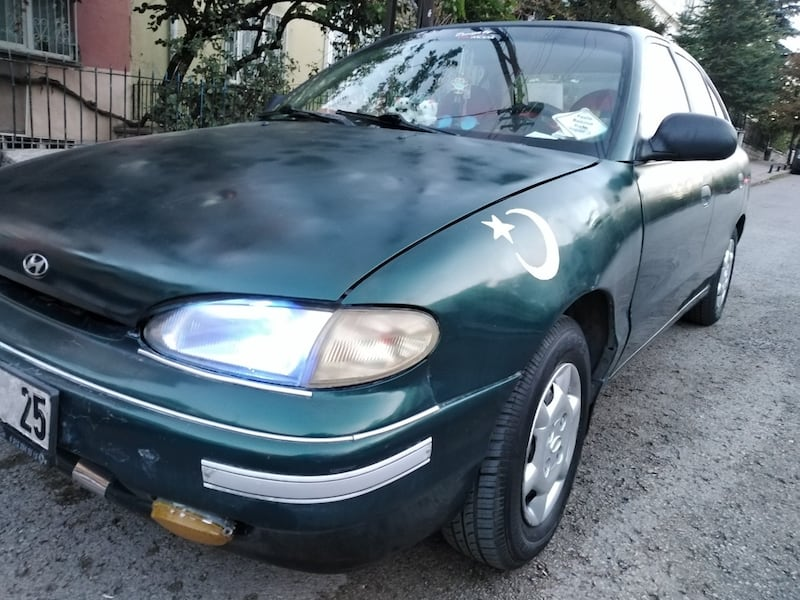 Hyundai Accent 1.5 GLS 1995 model 0
