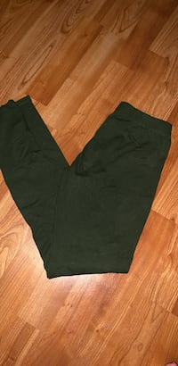 Ankle-Length army green leggings 1144 mi