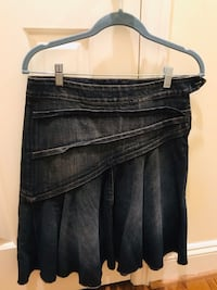 7 for all mankind jean skirt size 27 Washington, 20007