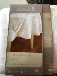 white fabric tablecloth box Fall River, 02723
