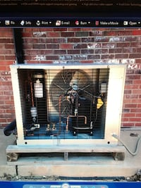 Refrigeration system for a walk in cooler Oklahoma City, 73012
