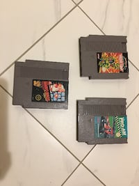 NES Super Mario Bros, TMNT 2 and RC PRO-AM All For $45 Toronto