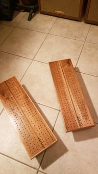 CUSTOM HAND MADE CRIBBAGE BOARDS
