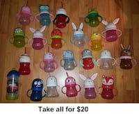 Target Circo Animal & Holiday Sippy Cups (Take all for $20) Mississauga