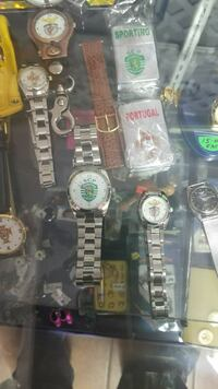 Watches and zippos
