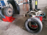 Instal and balance 4 tires