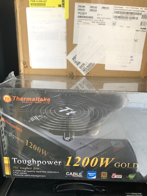 Thermaltake Toughpower 1200W Gold Power Supply