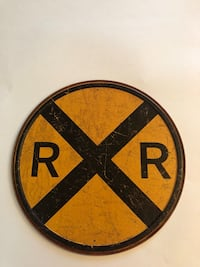 "Retro Tin Sign 12"" Diameter #2120 Sparks, 89436"