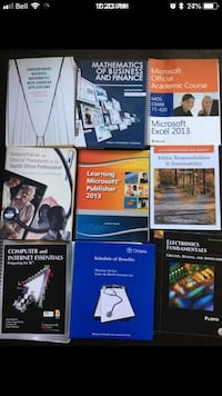 Attention Students and Avid Readers! Many Books for Sale! Mississauga, L5L 2E9