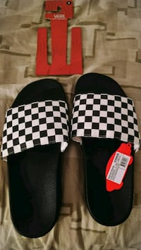 Mns vans checkerboard slide-on Raleigh, 27604