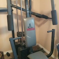 gray and black Weider exercise equipment Calgary, T3J 1S1