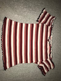 black, white, and pink stripe shorts Germantown, 20874