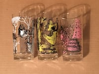 Rare Mint vintage Disney Sleeping Beauty glasses Toronto, M2M 3T9