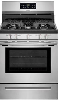 STAINLESS STEEL SELF CLEANING STOVE - Brand: Frigidaire's Babylon