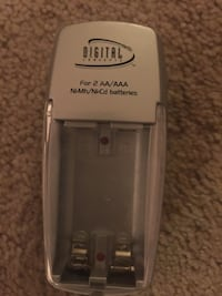 gray Digital for 2 AA/AAA battery charger