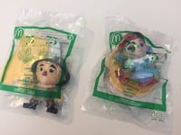 Wizard of Oz happy meal toys unopened