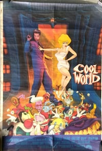 """Movie poster """"Cool World"""" Lake Forest"""
