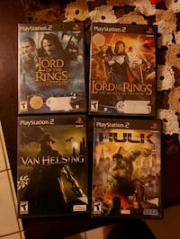 PS2 GAMES ($5 each) Bakersfield, 93306