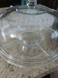 Glass cake stand with lid Martinsburg, 25401