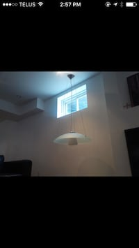 Beautiful modern hanging light,   Adjustable , currently hangs about 4 ft   $20 Hamilton
