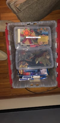 assorted color plastic toy lot Chicago, 60611