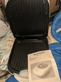 Brand new bravetti steam grill/George foreman