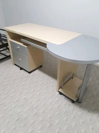 Desk with underneath cabinet and computer roller Rockville, 20853