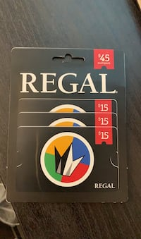 Regal Theaters Gift card