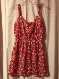 Red flower print Sundress  Vaughan, L4L 5T5